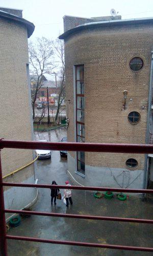 Фото: Галина Пилипенко. Круглый дом в Таганроге