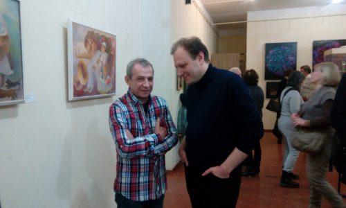 Саша Кисляков и Миша Басов. фото: Галина Пилипенко