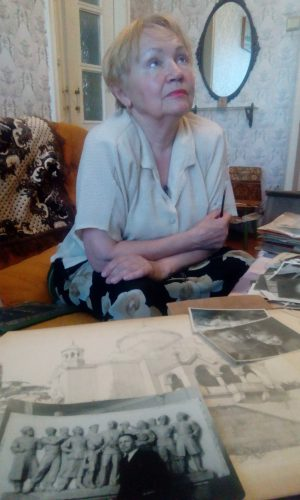 Татьяна Викторовна - дочь скульптора Баринова