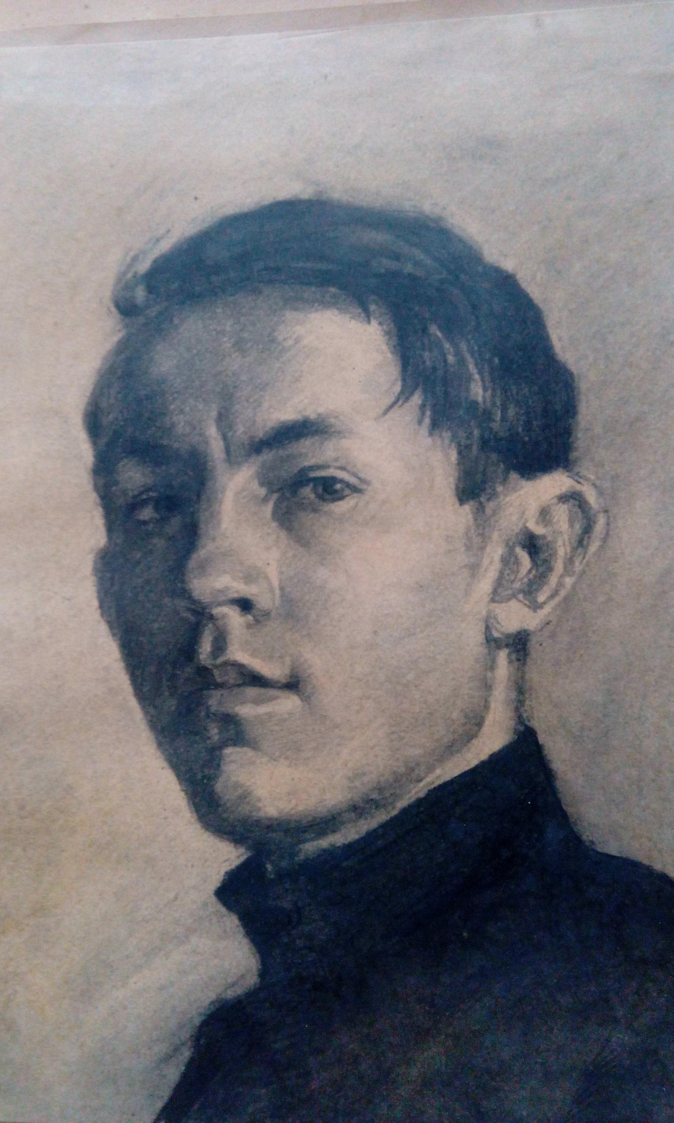 Виктор Баринов. Автопортрет
