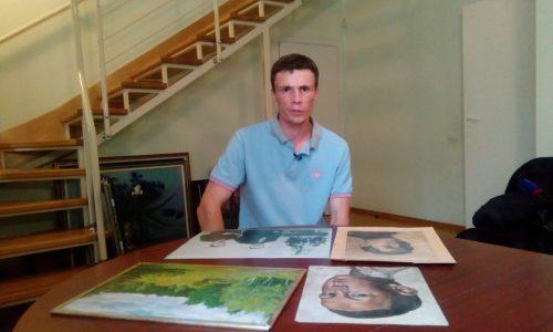Михаил Баринов внук Виктора Баринова, преподаватель рисунка и живописи кафедры Изобразительного искусства Архитектурной академии ЮФУ
