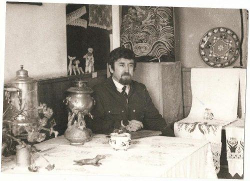 Александр Токарев на выставке в РХУ имени Грекова