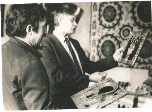 Александр Токарев с Доманским и окладами
