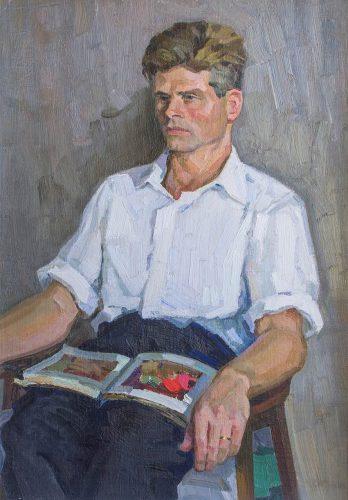 Анатолий Селютин. Таким написал его портрет Келлер в 1962 году, фото с персонального сайта Анатолия Селютина