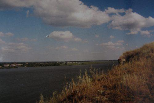 Облака детства. Калач-на-Дону. Фото: Валерий Кульченко. 2000 год.