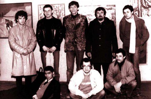 Первая выставка товарищества «Искусство или смерть». 1988 год. Таганрог (Taganrog)