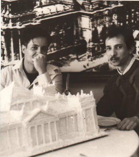 Юрий Шабельников и Александр Кисляков. Выставка-инсталляция «Два приношения: горькое и сладкое»