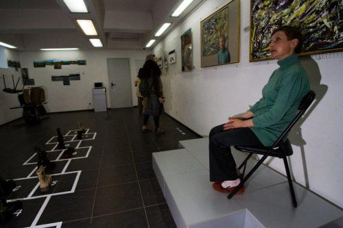 Кисляков.Дурицкая биенале. Проект Александра Кислякова «Рэди мейд», 22 мая 2010 года.