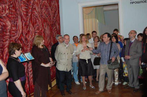 Александр Кисляков. Проект-интервенция «Слепые», 21мая 2010 года.