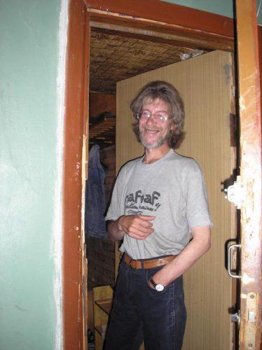 Рок-журналист Александр Старцев.