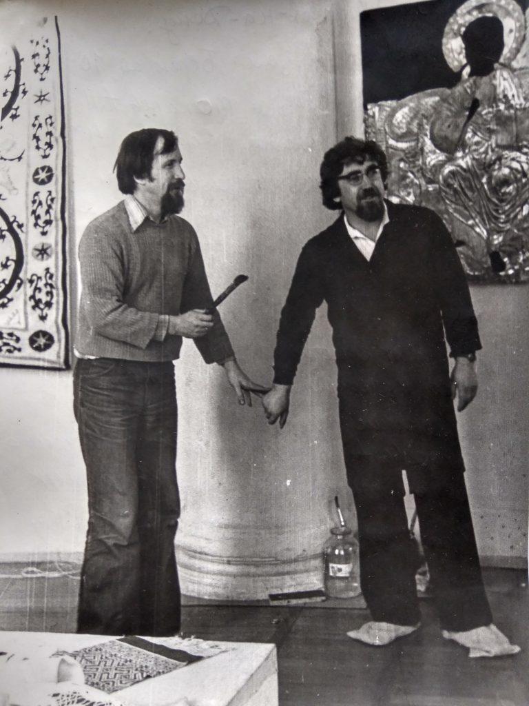 В.И. Кульченко и А.П.Токарев. 1979 год
