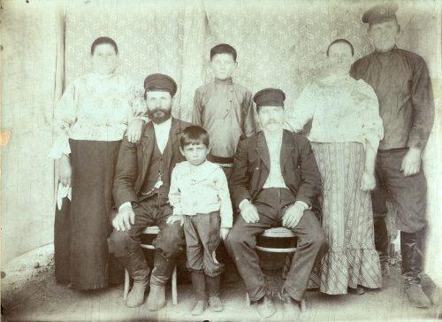 Черпаковы. Документальная фотография 1915 года.