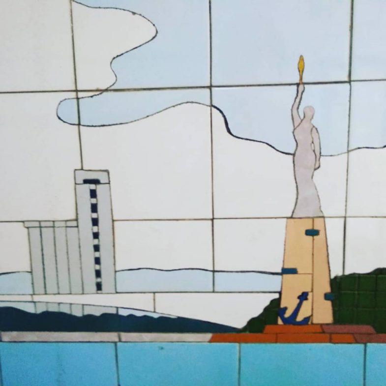 Mosaic in the crossings of the city of Rostov-on-Don. Photo: Galina PilipenkoМозаика в переходах города Ростова-на-Дону. Фото: Галина Пилипенко